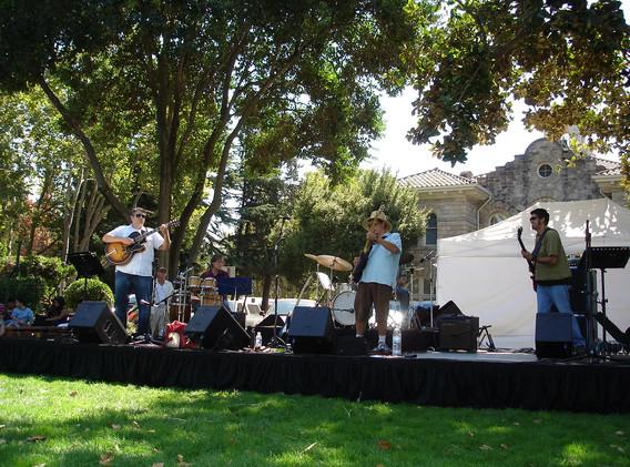 First JBG gig in Sonoma