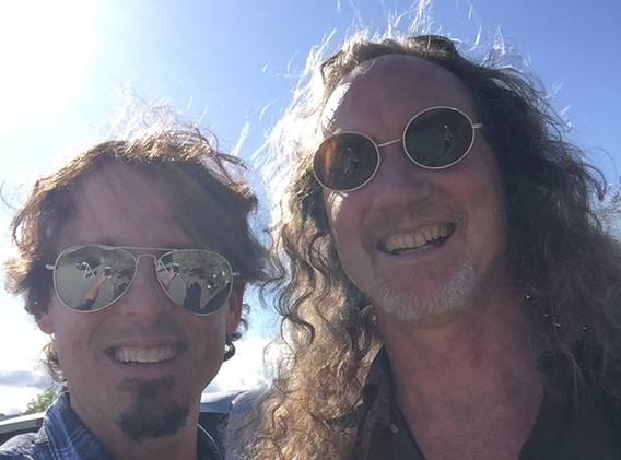 J and Tom Finch 2018 in Healdsburg.