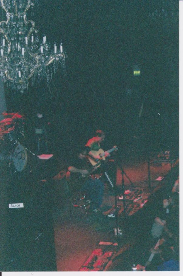 Carter & Bodlovich opening for Satriani at Fillmore, SF.