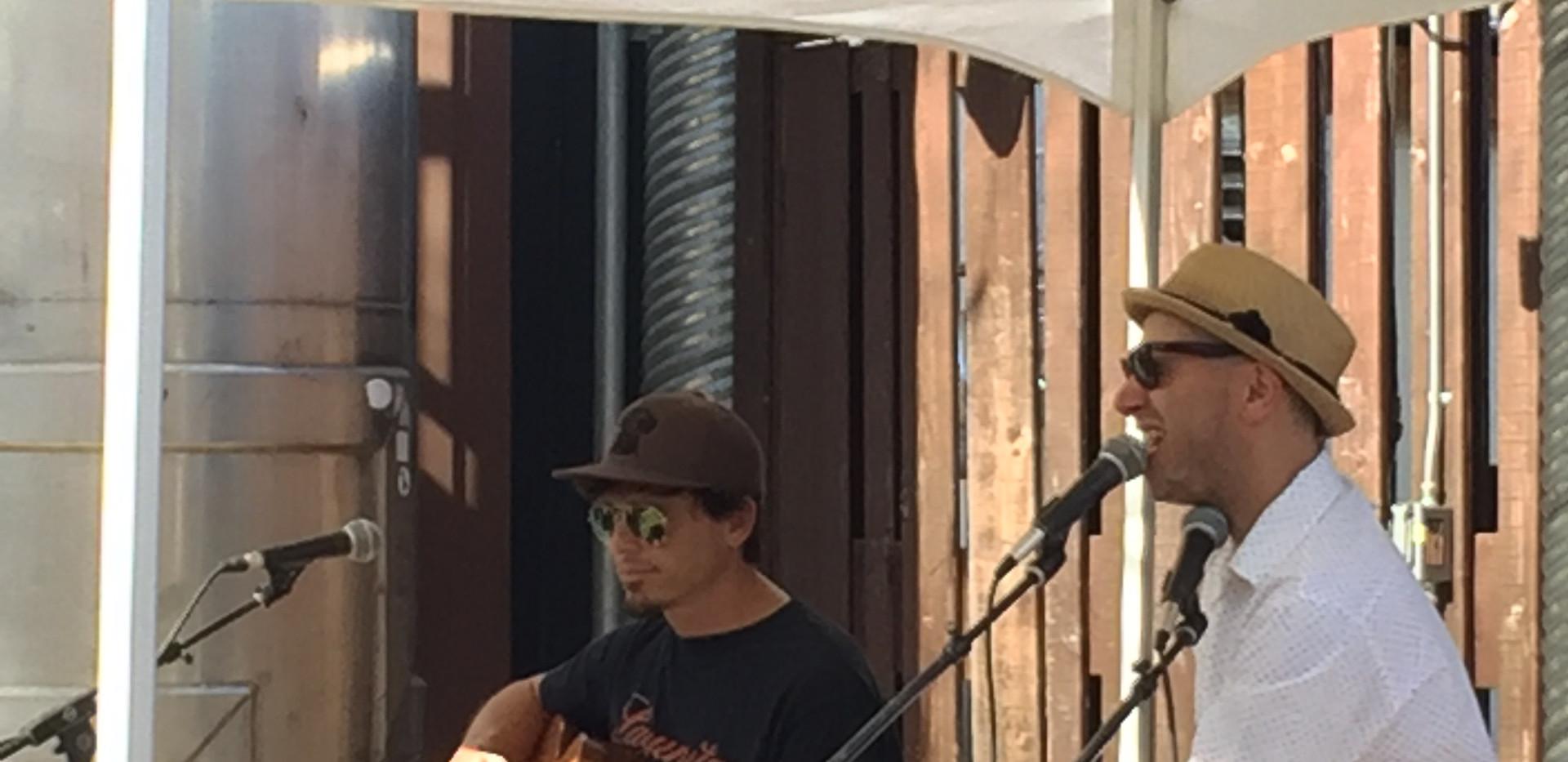 Ragtag Sullivan Duo at Lagunitas, Petaluma