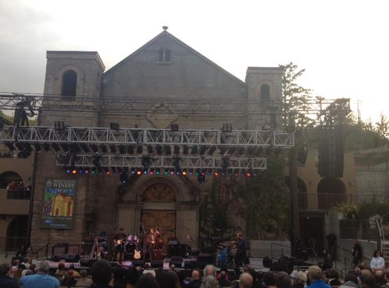 JB Trio opening for Boney James at Mountain Winery, Saratoga