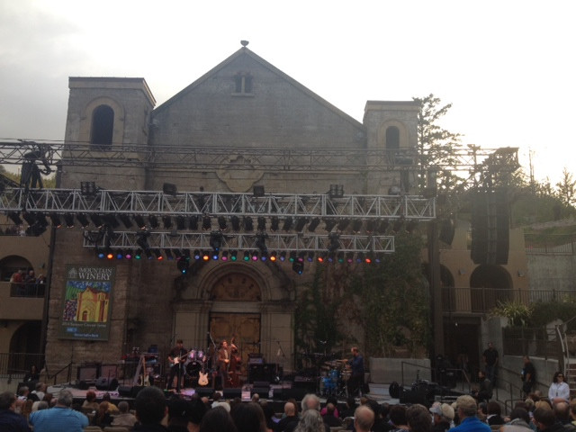 JB Trio opening for Boney James at Mountain Winery, Saratoga