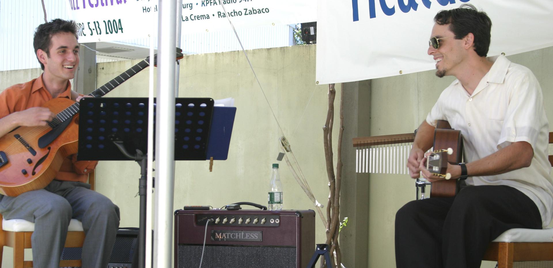 J & Julian Lage at Healdsburg Jazz Festival