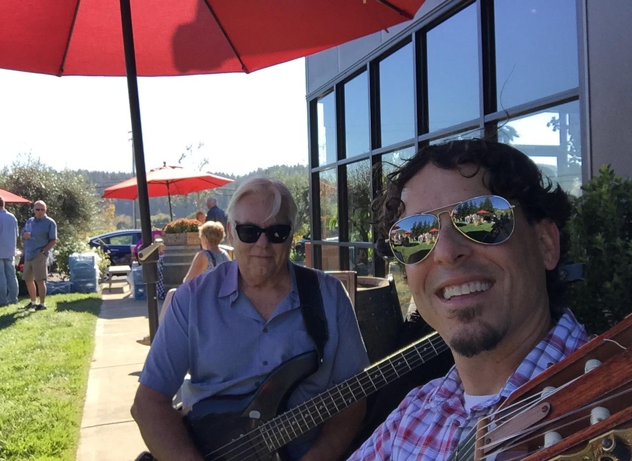 J and Cliff Hugo in Healdsburg