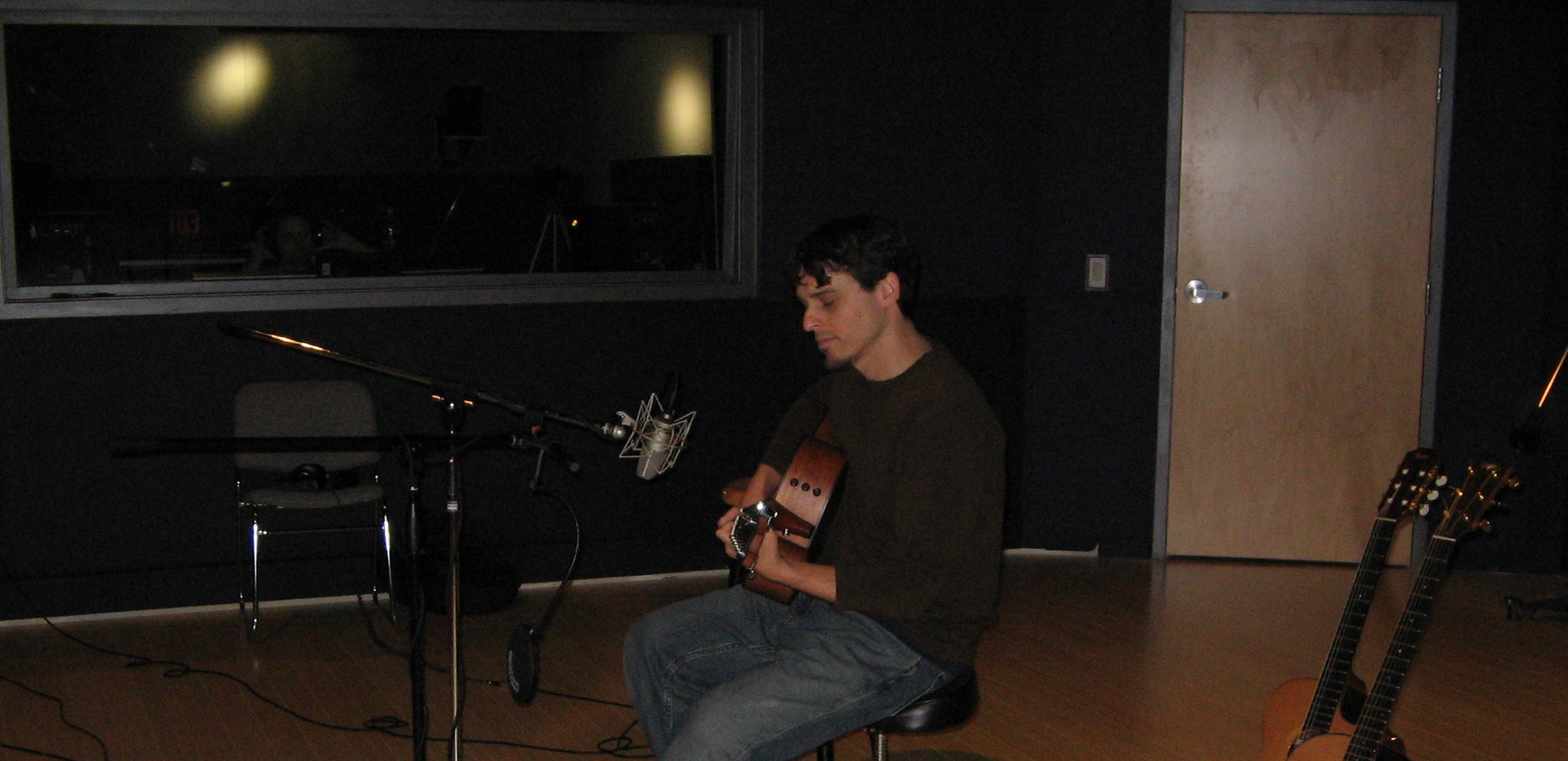 Recording Green Chair in Marin.