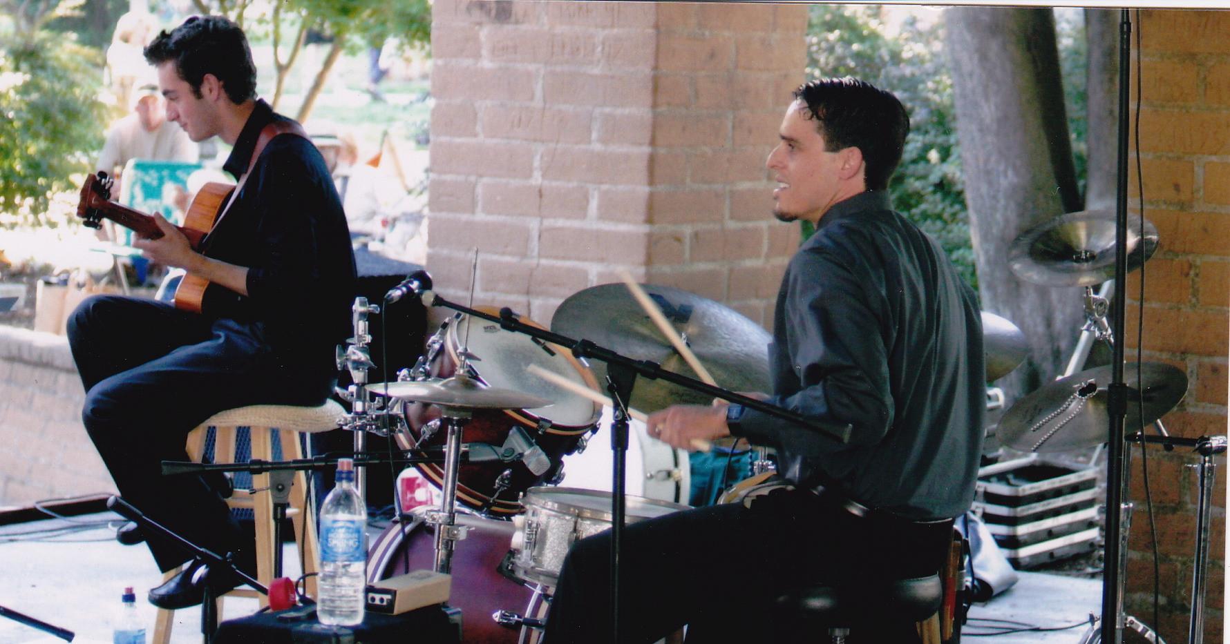 J & Julian Lage in Sonoma Plaza