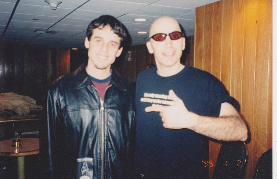 J and Joe Satriani in Santa Rosa