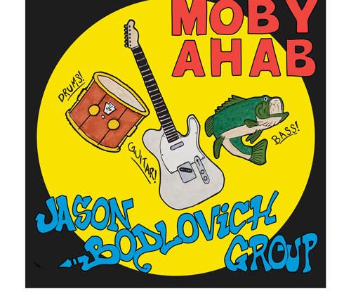 JBG ~ Moby Ahab cover art