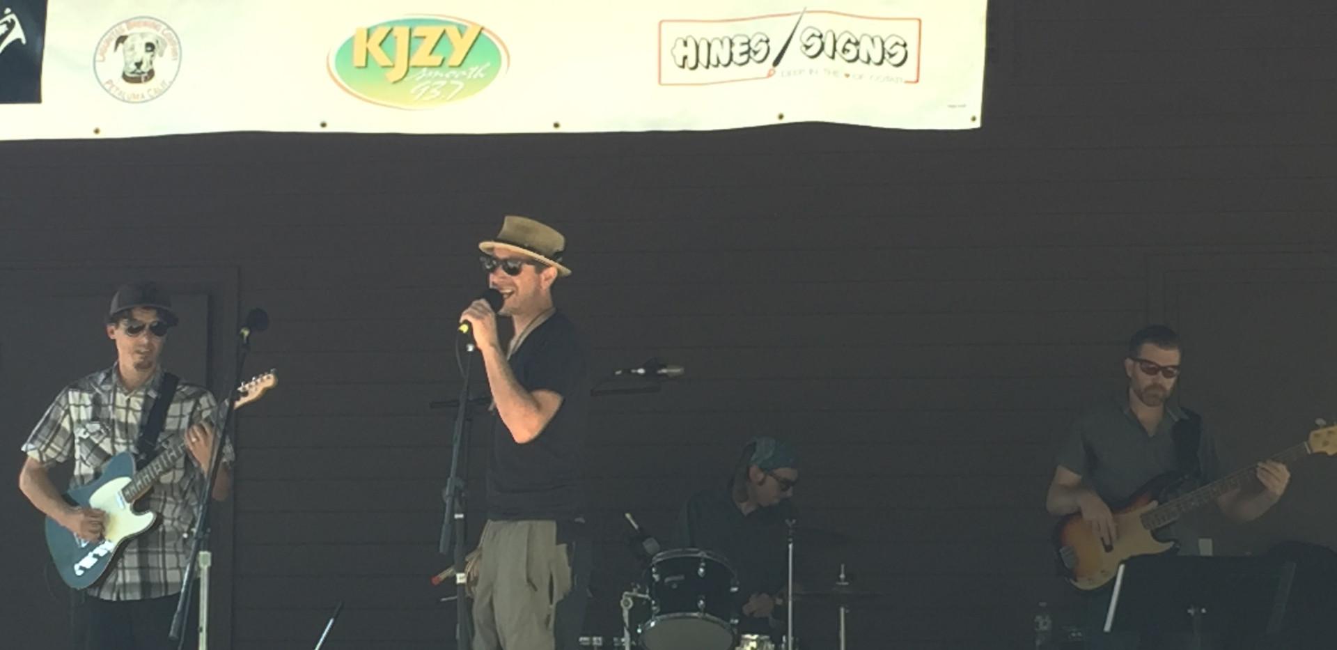 RS at Cotati Jazz Festival