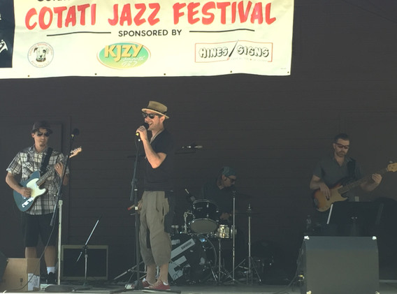 RS at Cotati Jazz Festival