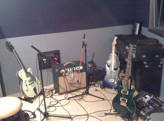 Hammerhead recording session gear
