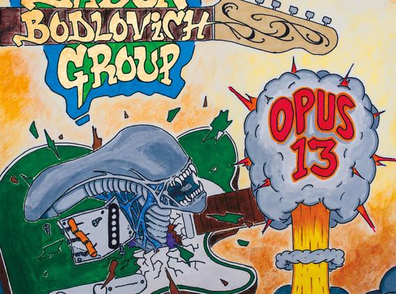 JBG ~ Opus 13 cover art