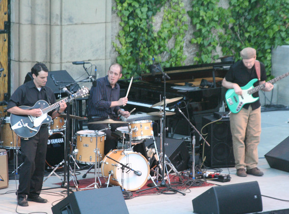 JB Trio opening for Diana Krall at Mountian Winery, Saratoga