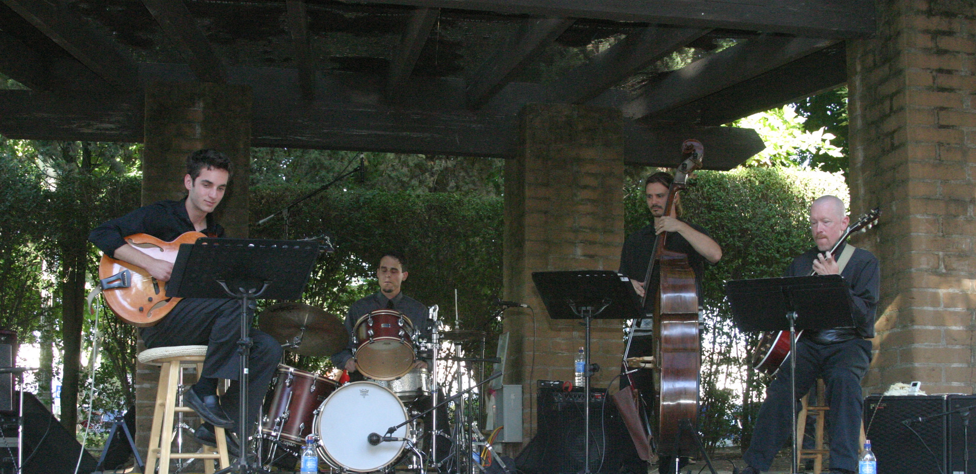 JB Quartet in Sonoma with Julian Lage, Taylor and Randy Vincent.