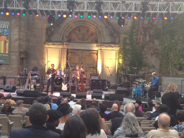 JB Trio opening for Boney James at Mountain Winery Trio, Saratoga