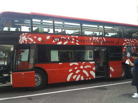 あのレストランバスを初体験 (゚д゚)!