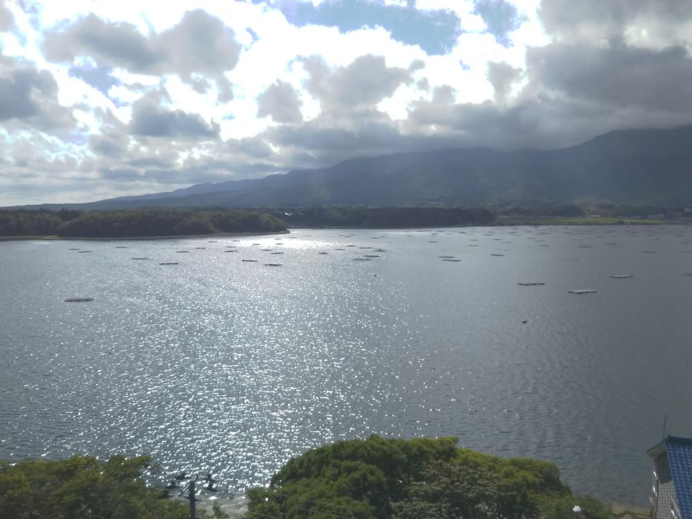 加茂湖展望の丘 佐渡椎崎温泉