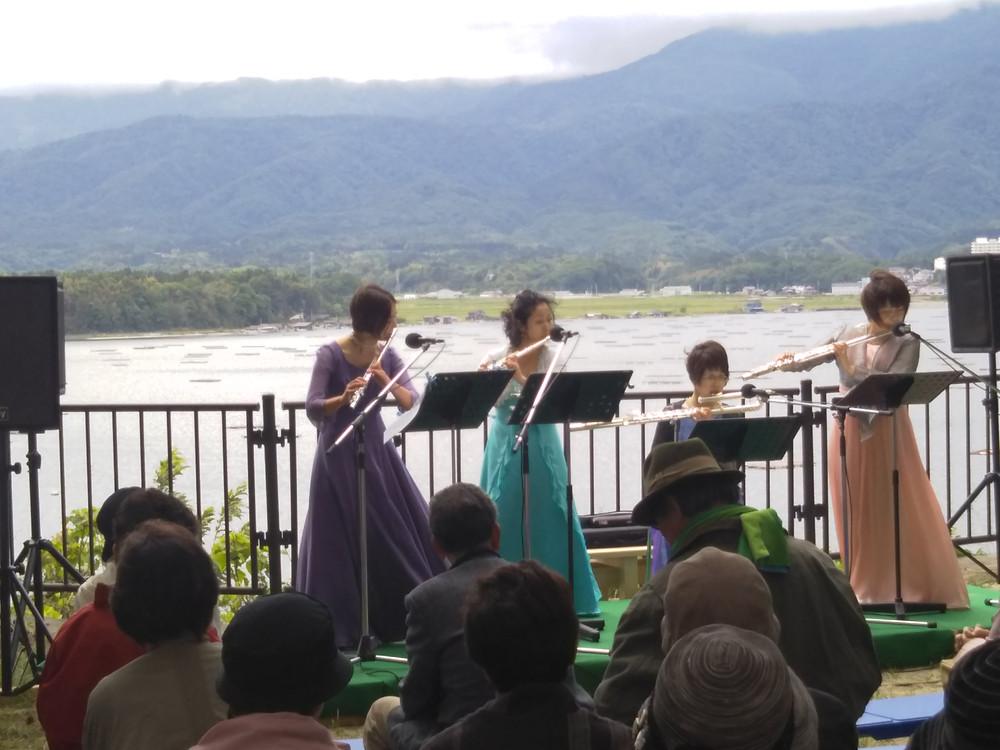 加茂湖展望の丘 椎崎公園 佐渡椎崎温泉