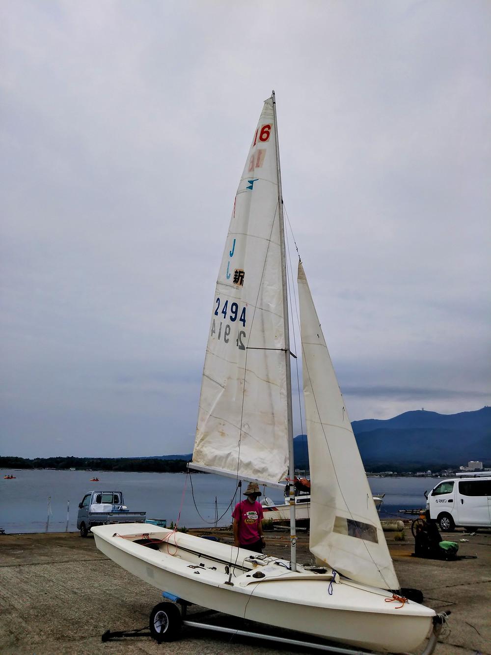 加茂湖ヨット体験 両津湾 釣り 黒鯛 シーバス 牡蛎