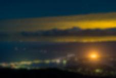 加茂湖ほたる ドンデン山夜景