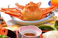 紅ズワイガニ カニ姿盛 海鮮料理