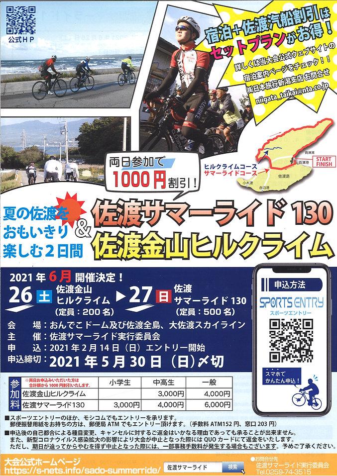 佐渡サマーライド130 佐渡金山ヒルクライム サイクリング 自転車