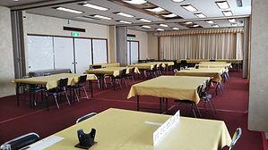 食事会場 カニ 海鮮料理 和定食 イステーブル式 佐渡 温泉 Wi-Fi完備 バリアフリー