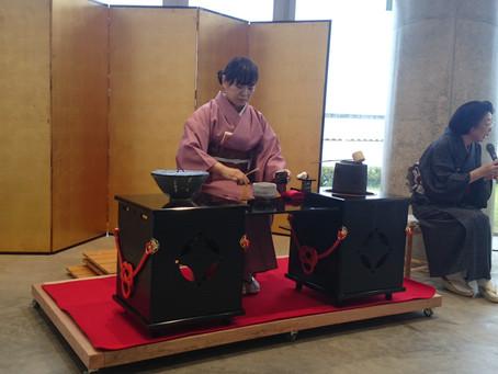 椎崎諏訪神社「秋のお茶会」