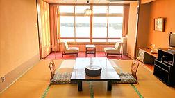 和室 加茂湖眺望 バストイレ付 景色が良い