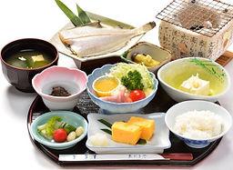 佐渡の朝食 和定食 佐渡の地魚
