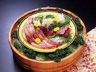 佐渡近海魚介類盛合せ