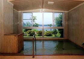 展望大浴場 温泉 ナトリウム塩化物泉 佐渡温泉 しいざき温泉