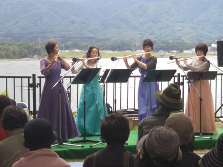 加茂湖展望の丘 Lake View Concert♪