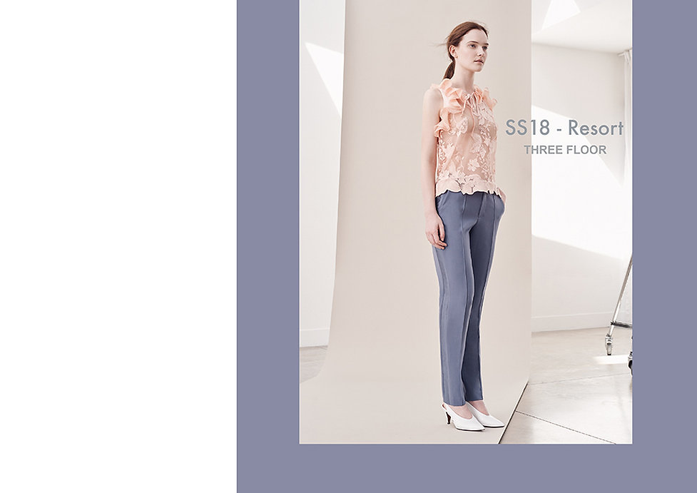 fashion portfolio lace top design
