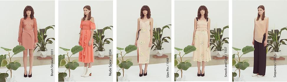 fashion portfolio four dress design