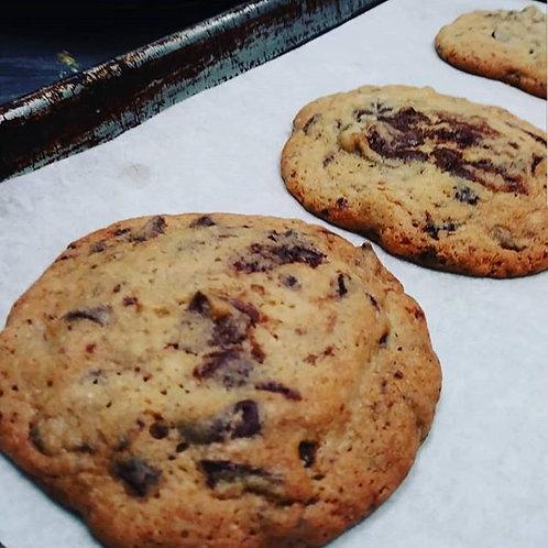 Boubon chocolate chunk cookies