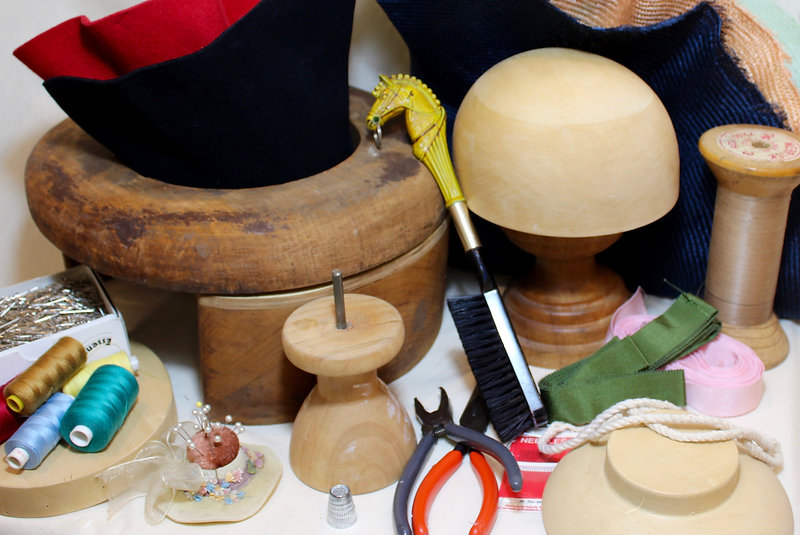 tools to learn millinery and hat design