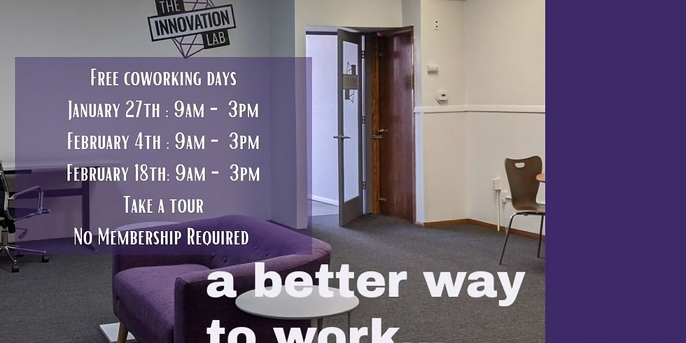 FREE COWORKING THURSDAY - INDEPENDENCE