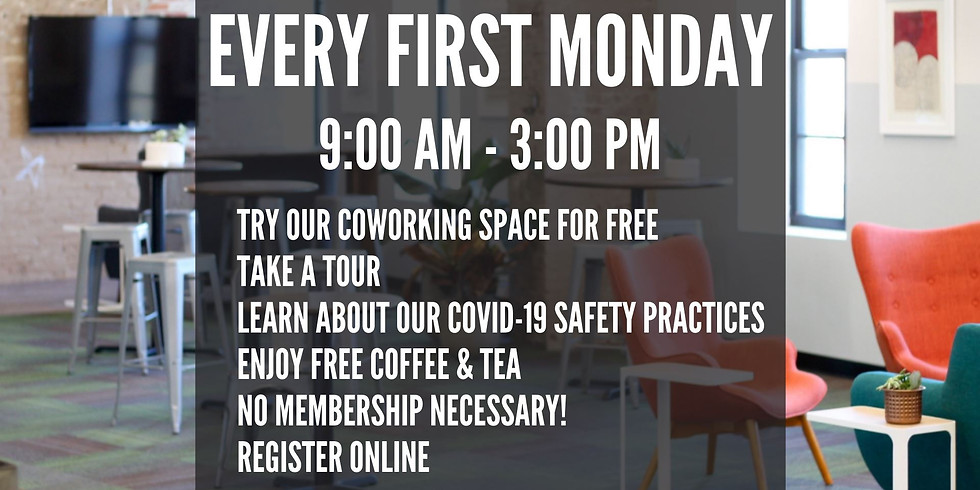 FREE COWORKING MONDAY - DUBUQUE