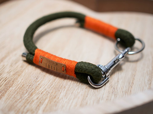 Tauhalsband Color - Oliv