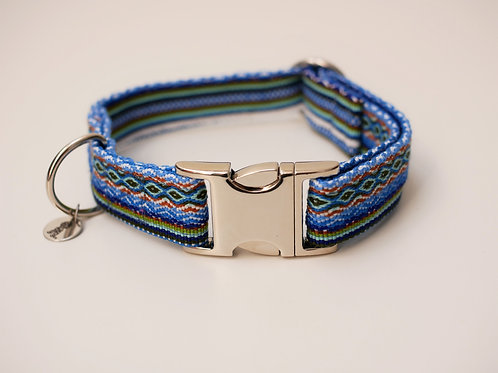 Halsband Boho - Blau