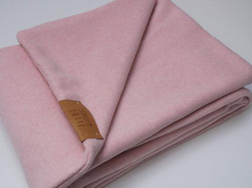 Hundedecke Baumwollfleece - Rosa