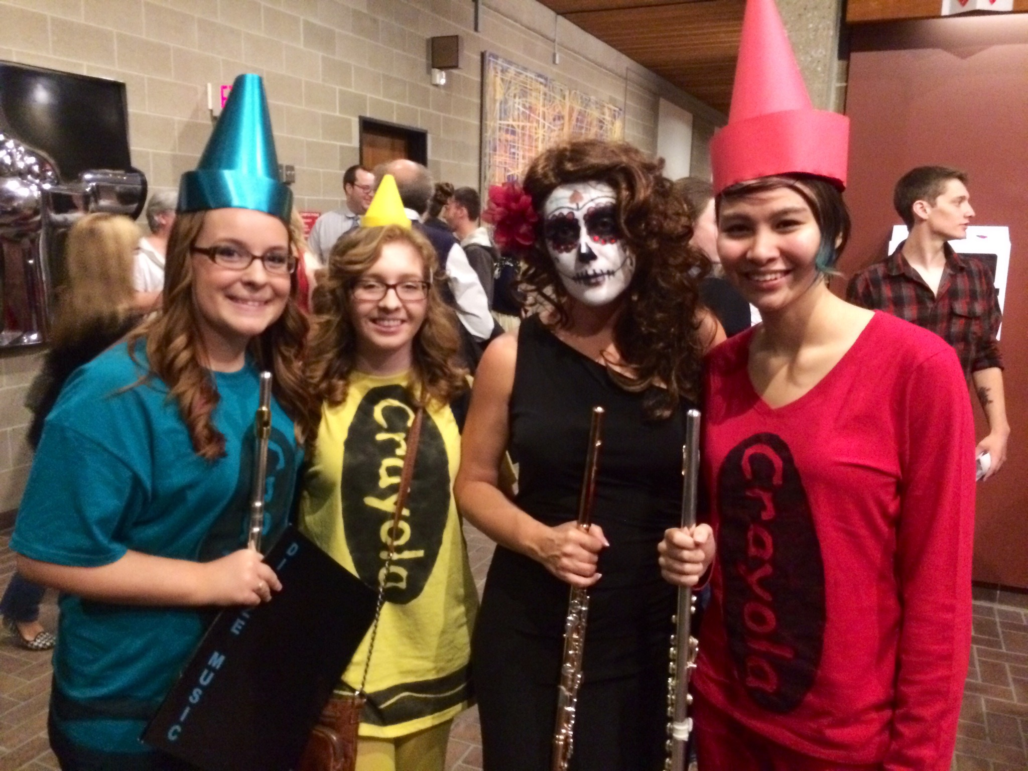 Flutes at the Hauntcert 2014