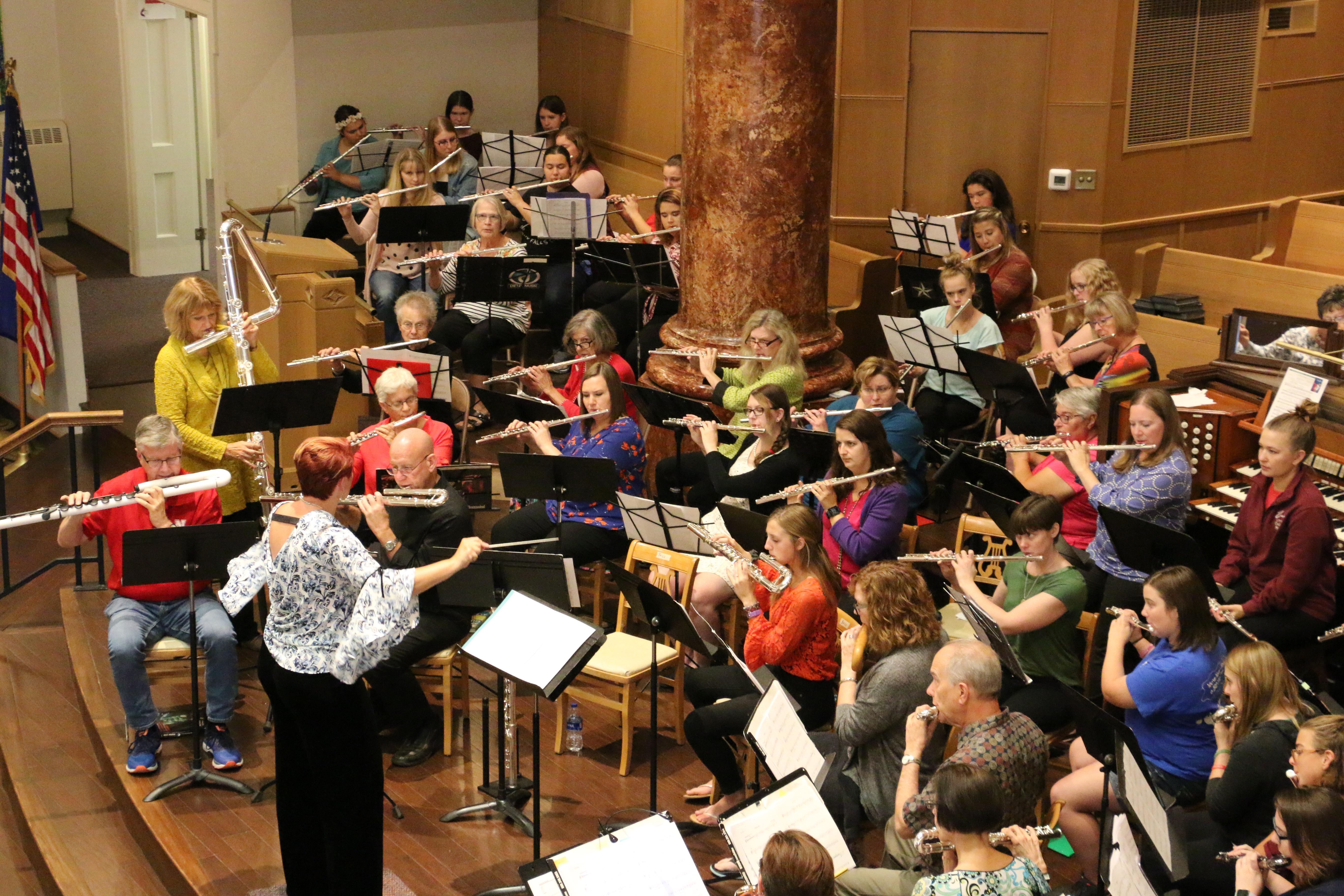Nebraska Flute Choir Festival 2018