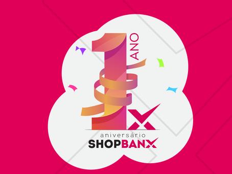 Shopbanx celebra primeiro ano com 10 lojas inauguradas