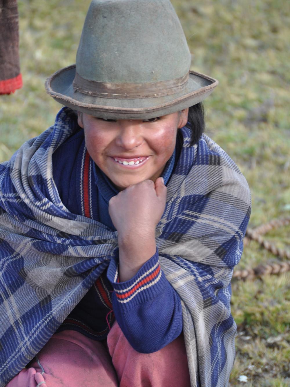 """Flip book """"Portraits"""". Photo album Perol Chico, the Sacred valley of the Incas, Cusco, Peru."""