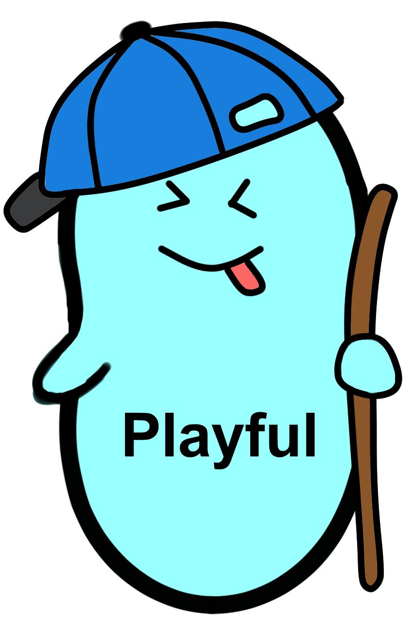 Playful Jellybean