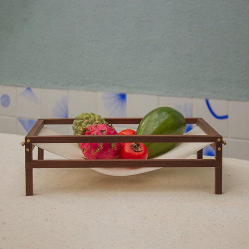 fruteira tarrafa + frutas