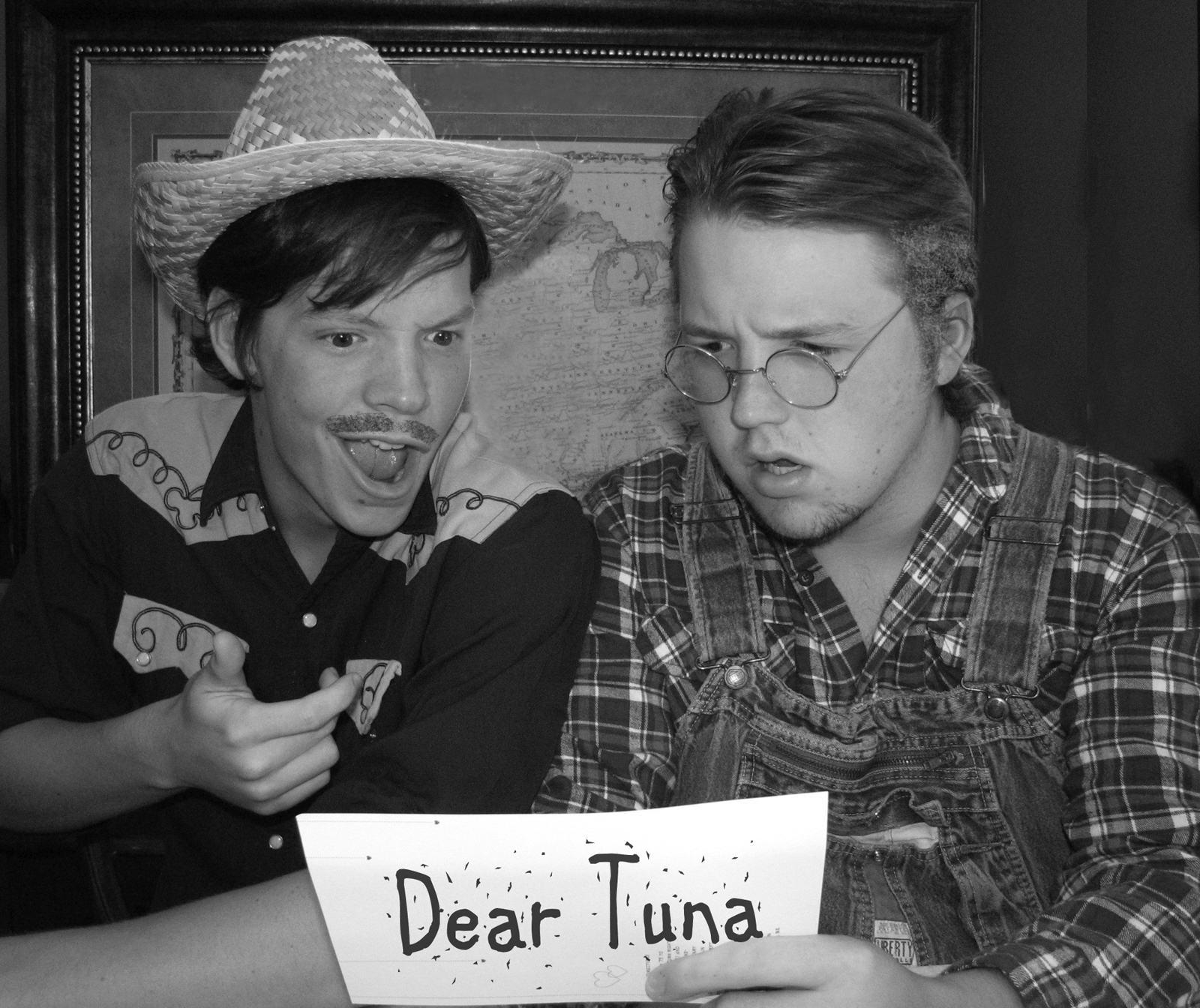 Greater Tuna Cast BW