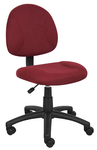 Boss Burgundy Deluxe Posture Chair